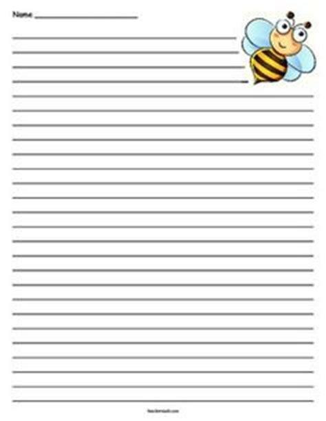 bee writing paper giraffe lined paper giraffes and paper