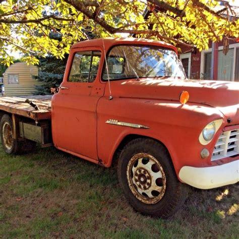 chevrolet 1 ton truck 1955 chevrolet 3500 1 ton flat bed truck