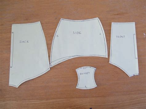 pattern making underwear buttons and bobbins pencil skirt to knickers pattern a