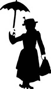 Disney Princess Castle Wall Stickers mary poppins silhouette by brickwallsam on deviantart