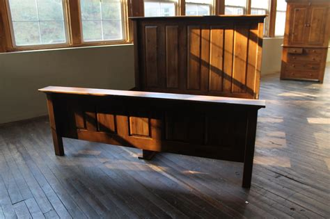 reclaimed wood bedroom reclaimed wood bed in antique walnut finish ecustomfinishes
