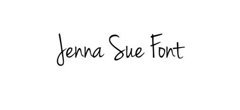 Tattoo Font Jenna Sue | 30 artistic free handwritten fonts flashuser