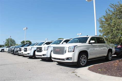 gmc dealerships indiana andy mohr buick gmc hosts ultimate tailgate event sept 13