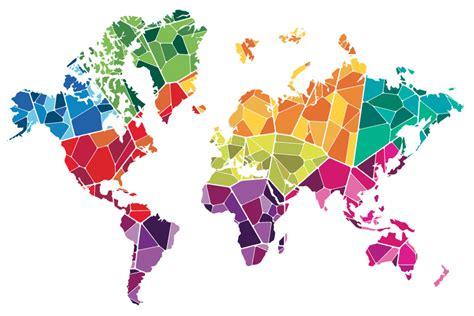 world map illustration 2 unilever visual identity 2012 bain creative
