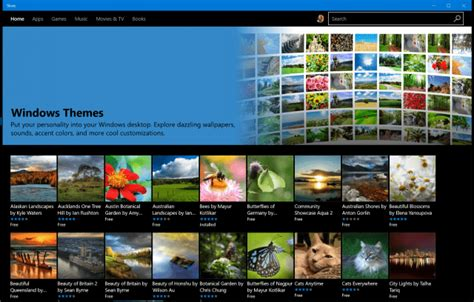 where are themes pictures stored in windows 10 how to install themes from the windows store windows 10