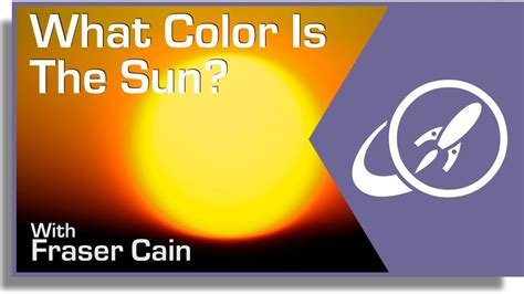 color of the sun what color is the sun youtube