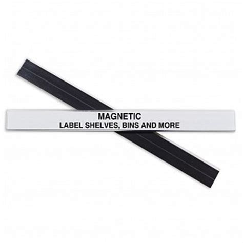 Magnetic Shelf Label Holders by Hol Dex Magnetic Label Holders 1 2 Inch 10 Bx 87207