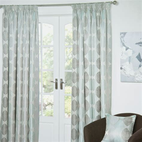 the range curtains uk leaf taped lined curtain
