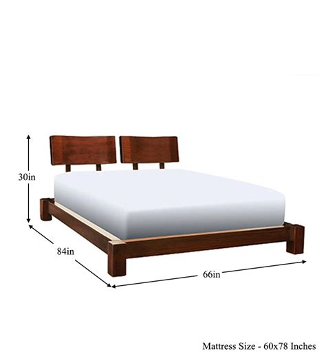 size of queen bed cayenne double headboard queen size bed by mudramark