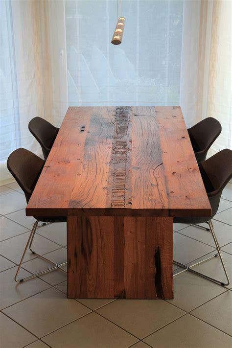 Esstisch Altes Holz 271 esstische aus altholz lumnezia design m 246 bel mit seele