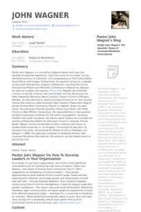 Pastoral Resume Template by Lead Pastor Resume Sles Visualcv Resume Sles Database