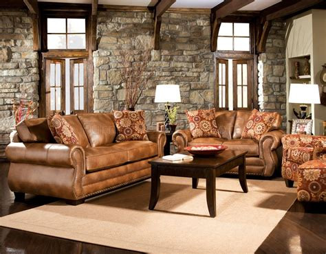 leather and fabric living room sets sm5053 birmingham sofa in leather like fabric w options