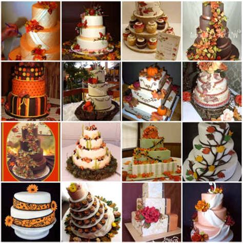 fall themed wedding decorations fall themed wedding cakes best of cake