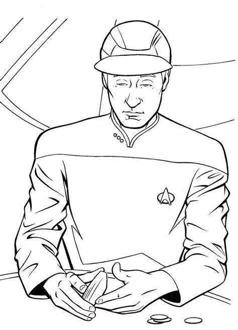 trek coloring pages data trek coloring page coloring pages