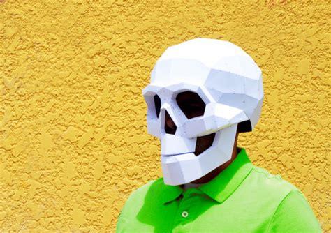 Papercraft Skull Mask - diy skull mask skull mask masks papercraft