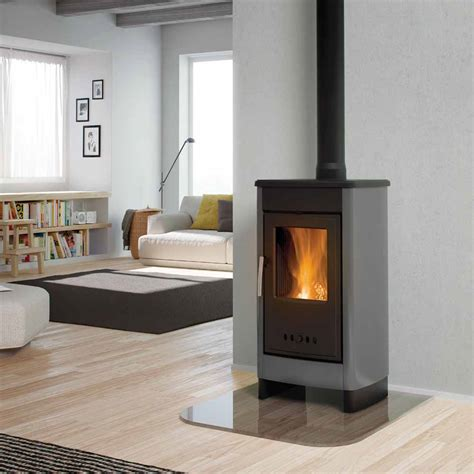 Free Standing Fireplace by Calore Free Standing Wood Burning Fireplaces