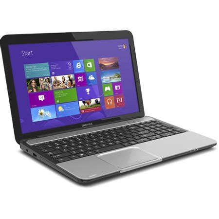 toshiba mercury silver 15 6 quot l855 s5366 laptop pc with intel i5 3210m processor and windows
