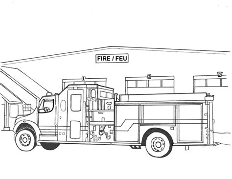 fire trucks coloring page free coloring pages of no fire trucks