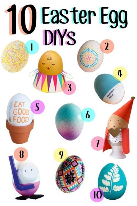 easter egg decorating pinterest 10 best easter egg decorating ideas