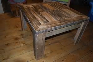 table basse en bois de palettes recycl 233 e meubles et