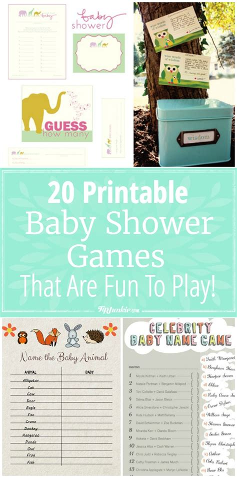 To Play At Baby Shower by 20 Printable Baby Shower That Are To Play Tip Junkie