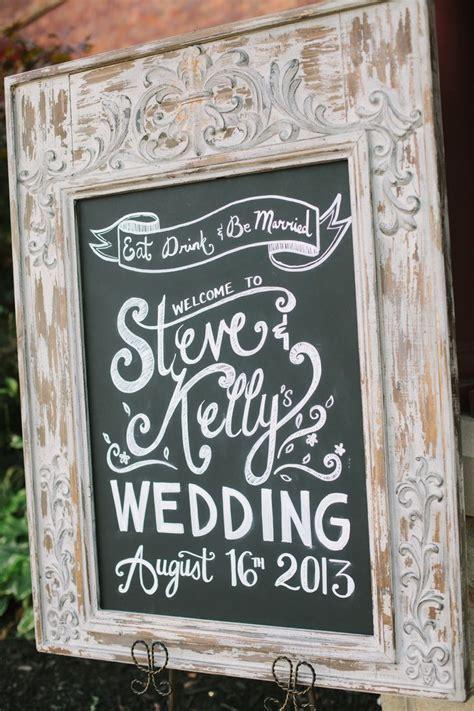 Wedding chalkboard welcome sign   Wedding   Wedding signs