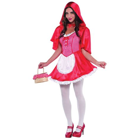 bedroom fancy dress wolf red riding hood ladies fancy dress costume womans