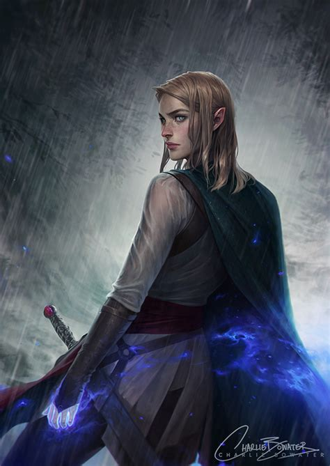 fireheart by charlie bowater on