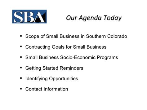 section 3 small business act 2 gsa getting started in federal contracting