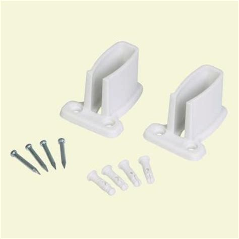 Closetmaid Parts Catalog Closetmaid Preloaded Wall Brackets For Superslide