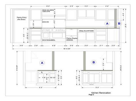 cabinet layout kitchen cabinets layout quicua com