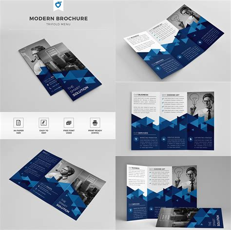 modern brochure template 20 best indesign brochure templates for creative