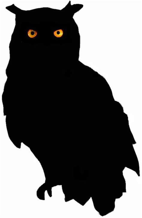 printable scary owl 451 best halloween silhouettes images on pinterest