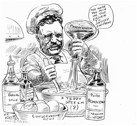 political cartoons illustrating progressivism and the prometheus