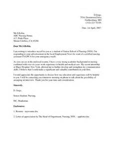 Cover Letter For Nurses Application Cover Letter For Applying For A Nursing Lawwustl Web Fc2