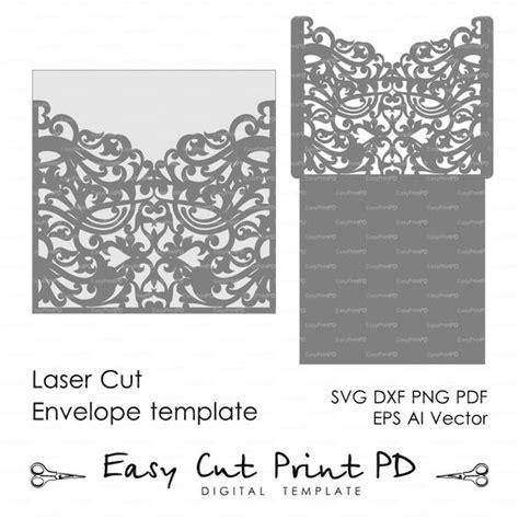 cricut templates scroll wedding envelope pattern template swirl cutting