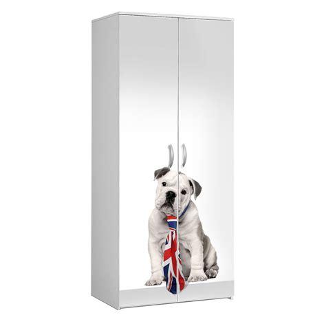mercatone uno mobili multiuso mobile multiuso 2 ante e 4 ripiani bulldog serigrafia