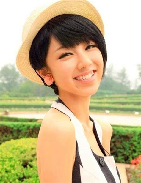 15 Pixie Cut Asian   Pixie Cut 2015