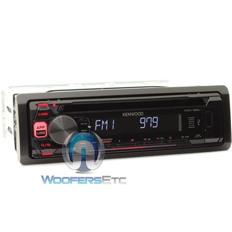 Kenwood Car Stereo With Usb Port by Kdc 125u Kenwood In Dash Cd Mp3 Car Stereo Receiver With