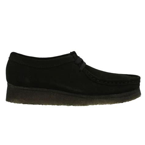clarks originals wallabee black womens shoes ebay