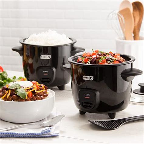 Rice Cooker Mini dash 2 pack mini rice cookers with recipes 8219599 hsn