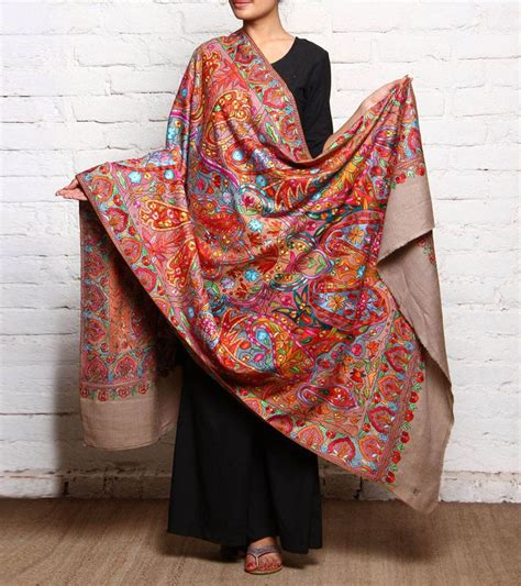 Pasmina Branded Dubai pashmina shawls in multi colored designing for style fashion ideas