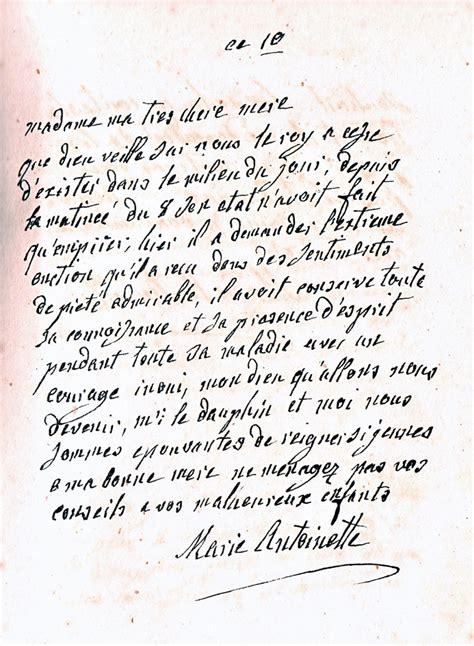 Lettre De Cachet De Louis Xvi La Correspondance De Antoinette Avec Sa M 232 Re Th 233 R 232 Se