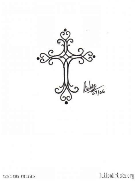 cute girly cross tattoos girly cross http amazingtattoogallery girly