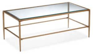 gold and glass coffee table harlan coffee table glass and gold s