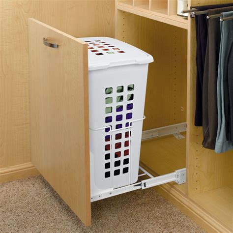 revashelf large pullout hamper with lid for closet or