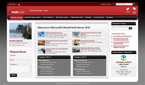 Sharepoint 2013 Master Page Templates Choice Image Template Design Ideas Free Sharepoint Site Templates