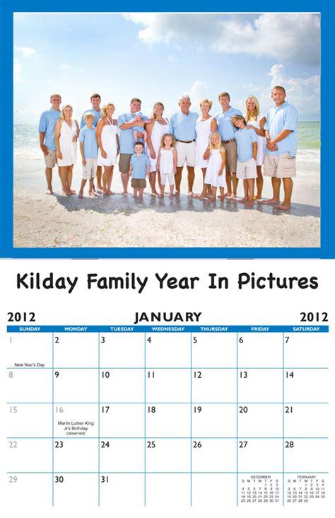 Calendar With Family 2018 Family Birthday Calendar Personalized Calendar Company
