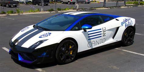lamborghini rally car canto nyc lamborghini gallardo for goldrush rally vi