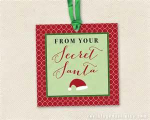 secret santa label template secret santa tags printable gift tags for work